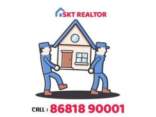 1 BEDROOM FIRST FLOOR HOUSE FOR RENT IN HMS COLONY 2ND STREET AREA